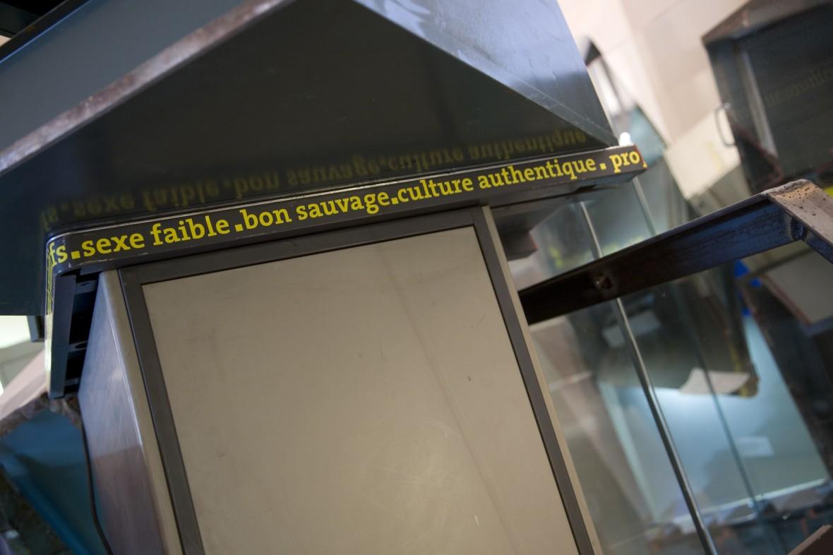 La Benne aux Idées reçues Musée de l'Homme Sept 2007